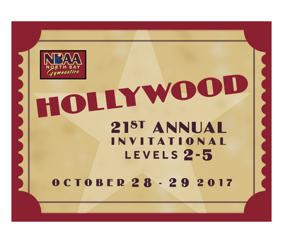 NORTH BAY'S HOSTED MEET SEASON IS HERE! HOLLYWOOD (OCT 28-29, 2017), LVL 3 NOR CAL STATE CHAMPIONSHIP (NOV 18-19, 2017) & MARDI GRAS (FEBRUARY 17-18, 2018)